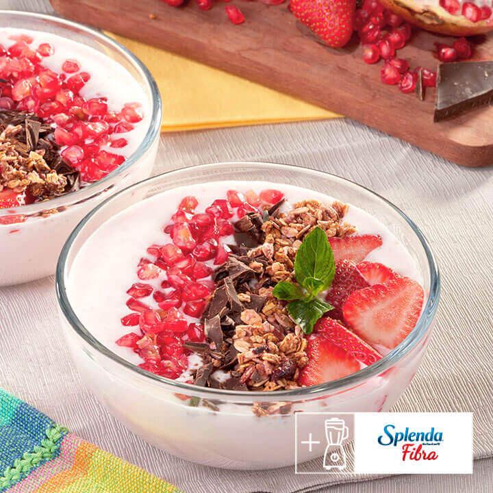 Saludable bowl energético