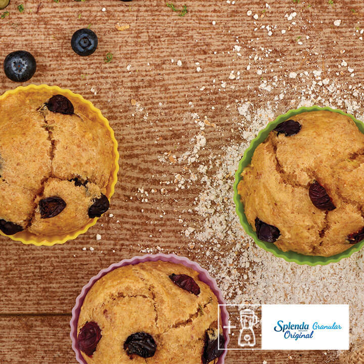 Prepara muffins de blueberry